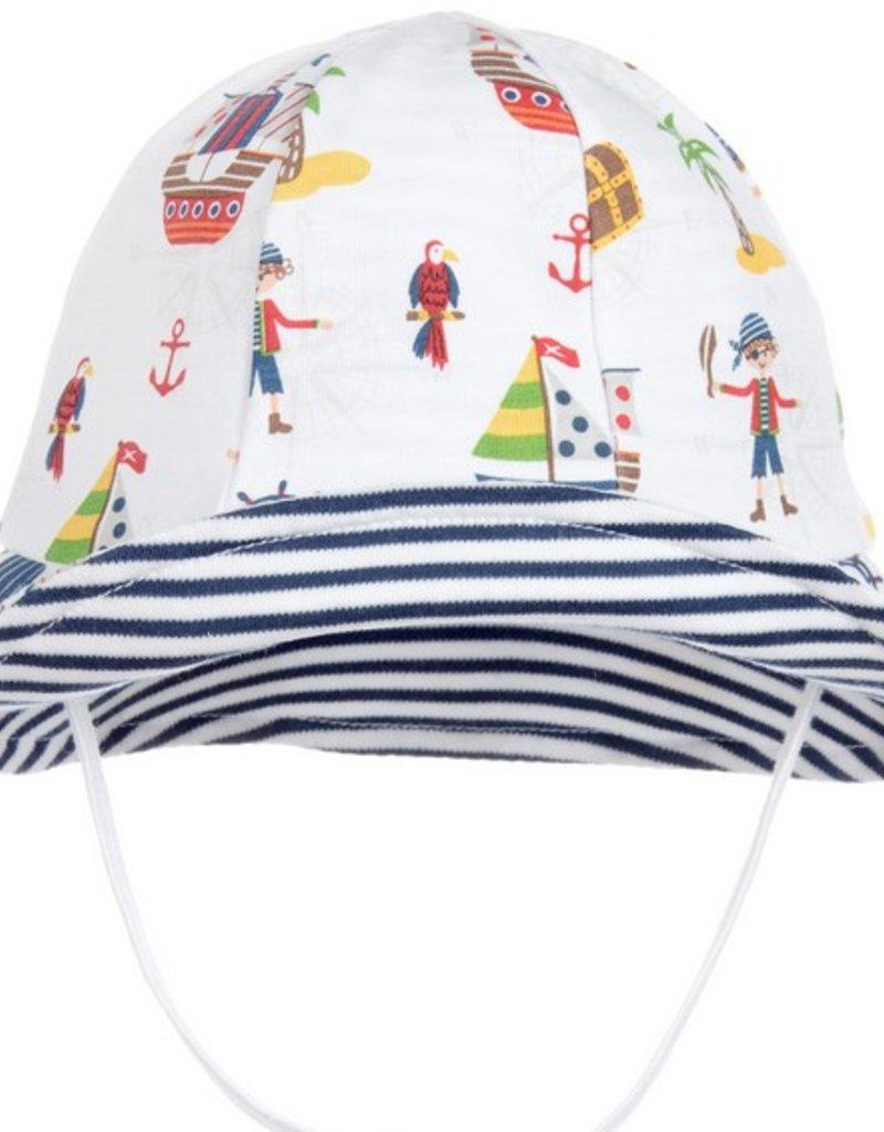 Buccaneers Sunhat - Doodle   Stinker Children s Boutique 58f2bc84ca5