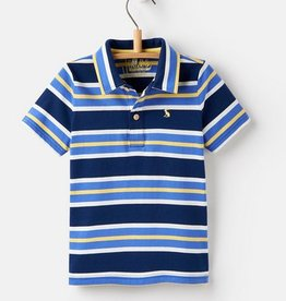 Navy Stripe Polo