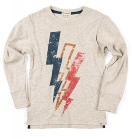 Appaman Lightning Bolt Tee Off White