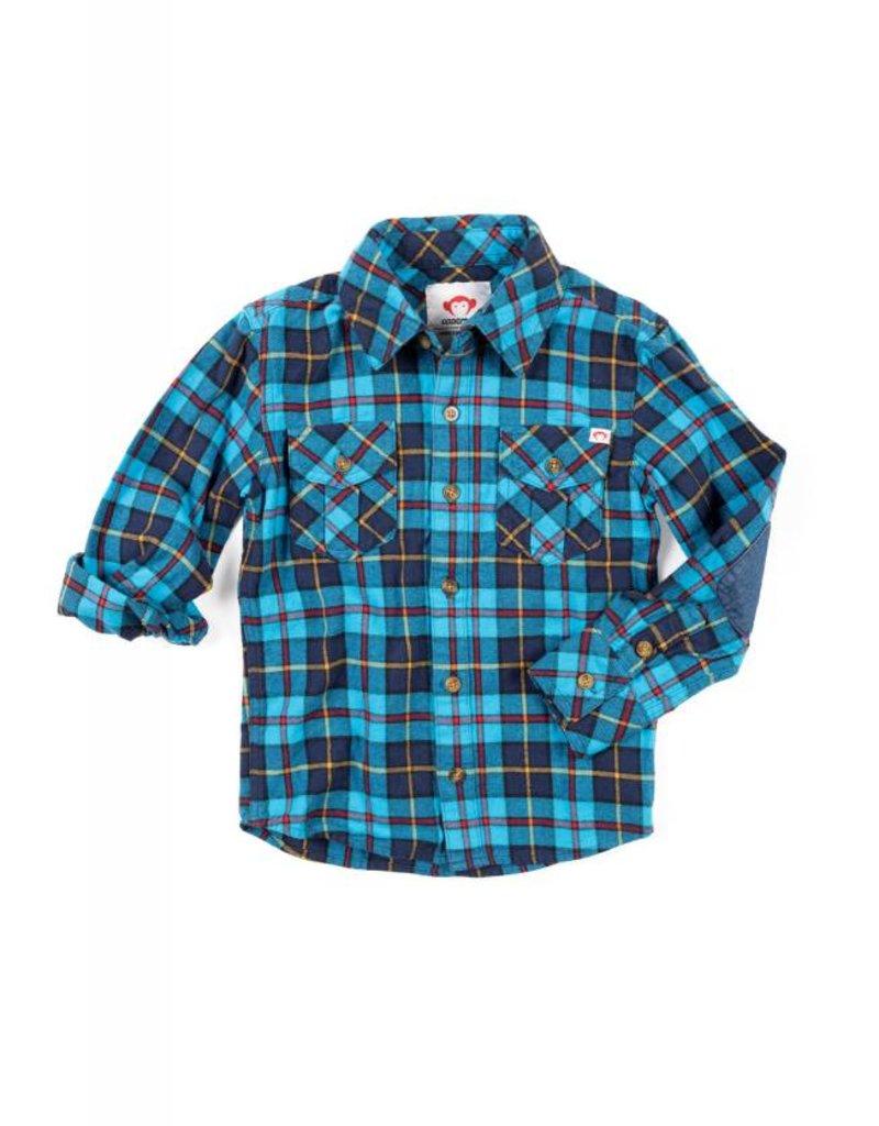 Appaman Blue Plaid Shirt
