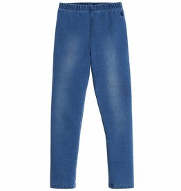 Blue Jersey Denim Pant