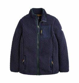 French Navy Zip Fleece