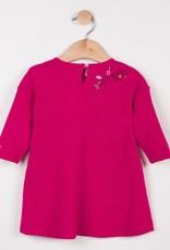 Catimini Pink Floral Emb. Dress