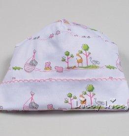 Kissy Kissy Noah's Print Hat Pink