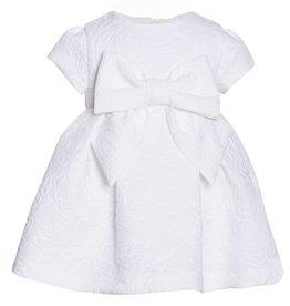 Patachou White Brocade Dress