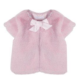 Patachou Pink Fur Gilet