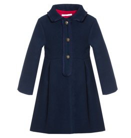 Patachou Navy Blue Coat