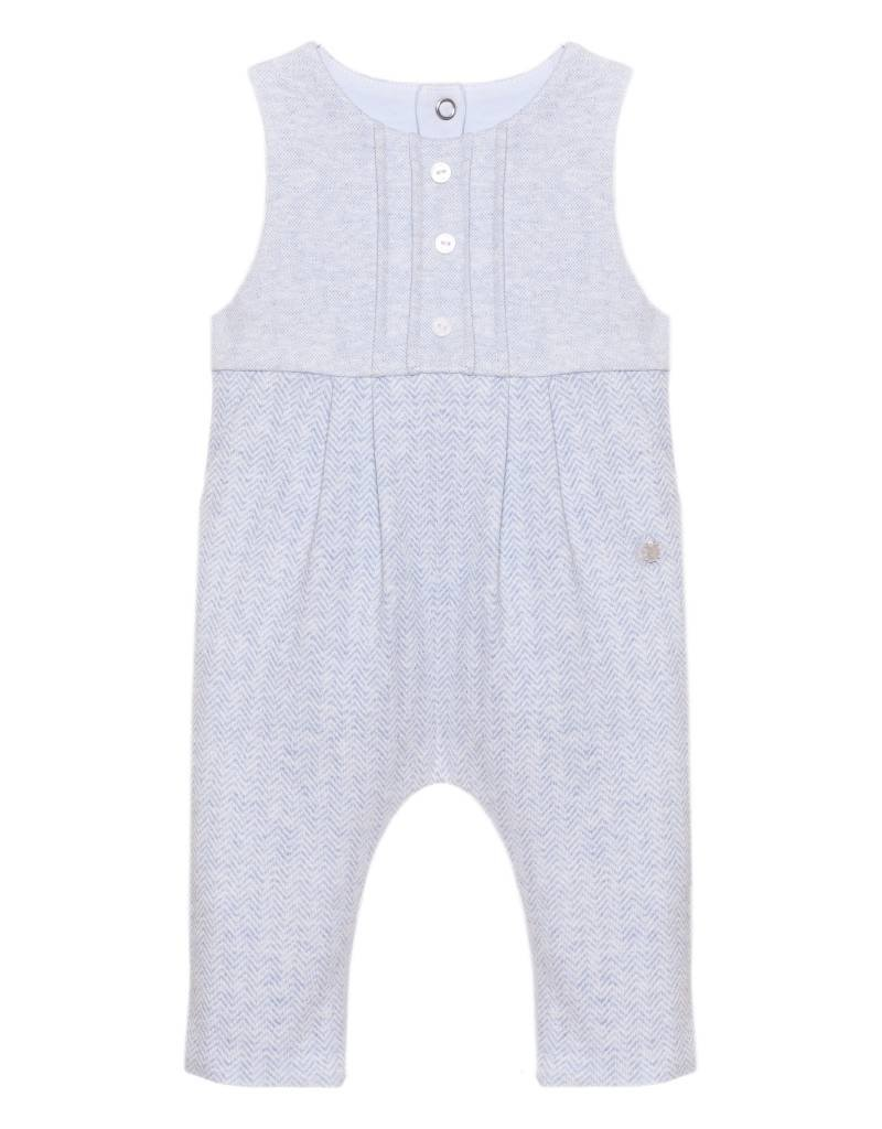 fdaa2ddfd Patachou Blue Knit Romper - Doodle   Stinker Children s Boutique