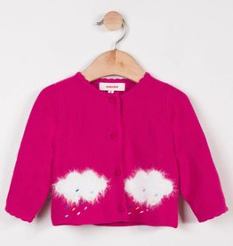 Catimini Pink Cloud Cardigan