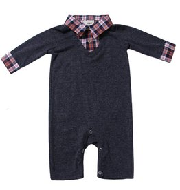 Fore Axel & Hudson Navy Sweater Romper