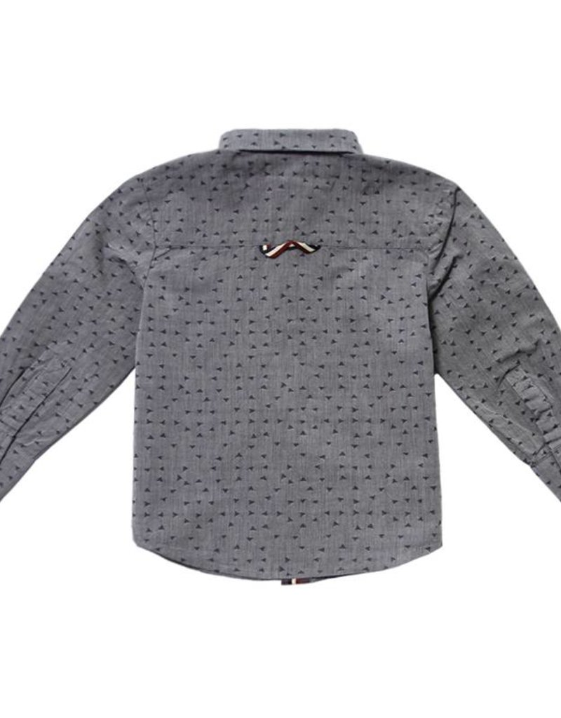 Fore Axel & Hudson Grey Poplin Shirt
