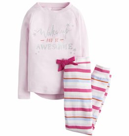 Pink Stripes Sleep Set