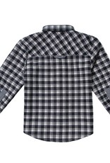 Fore Axel & Hudson Black & White Check Flannel