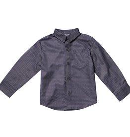 Fore Axel & Hudson Grey Pindot Shirt