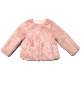Appaman Rose Faux Fur Coat