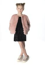 Appaman Rose Faux Fur Coat