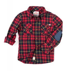 Appaman Rio Red Flannel Shirt