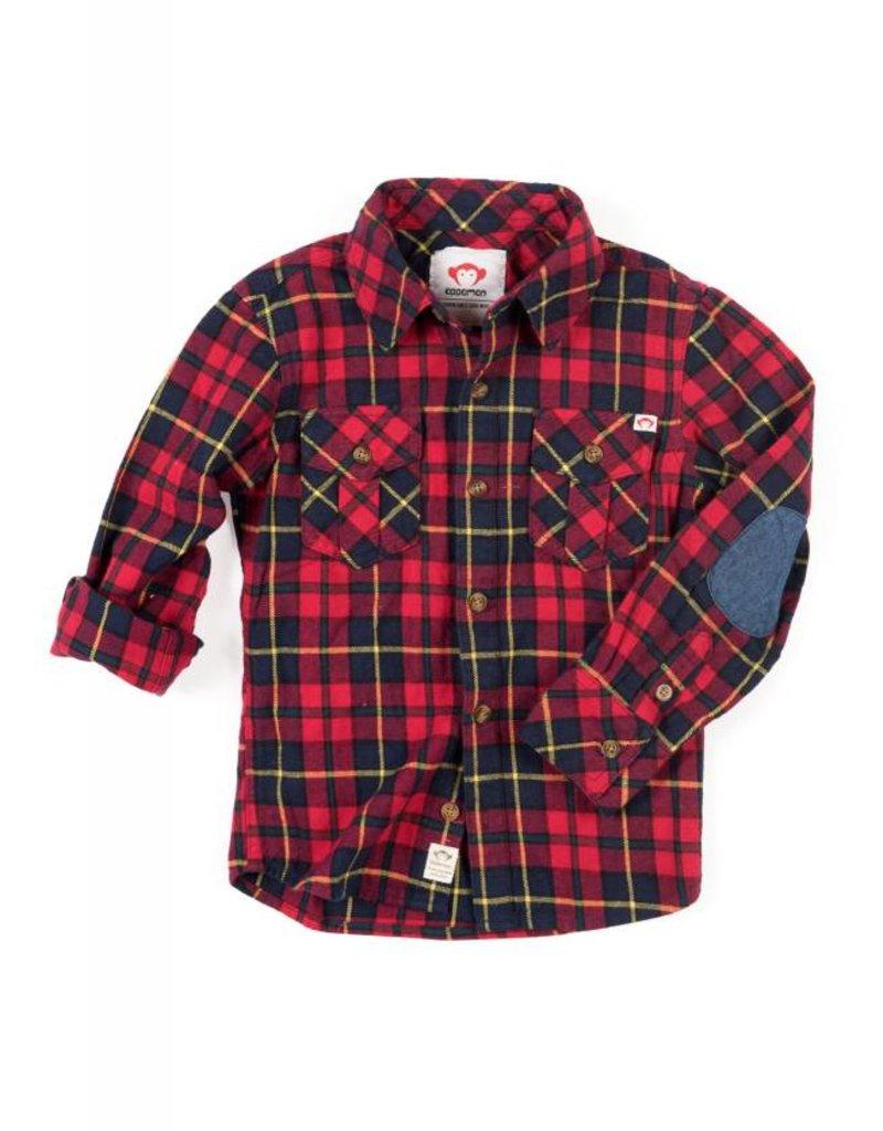 Appaman Rio Red Flannel Shirt
