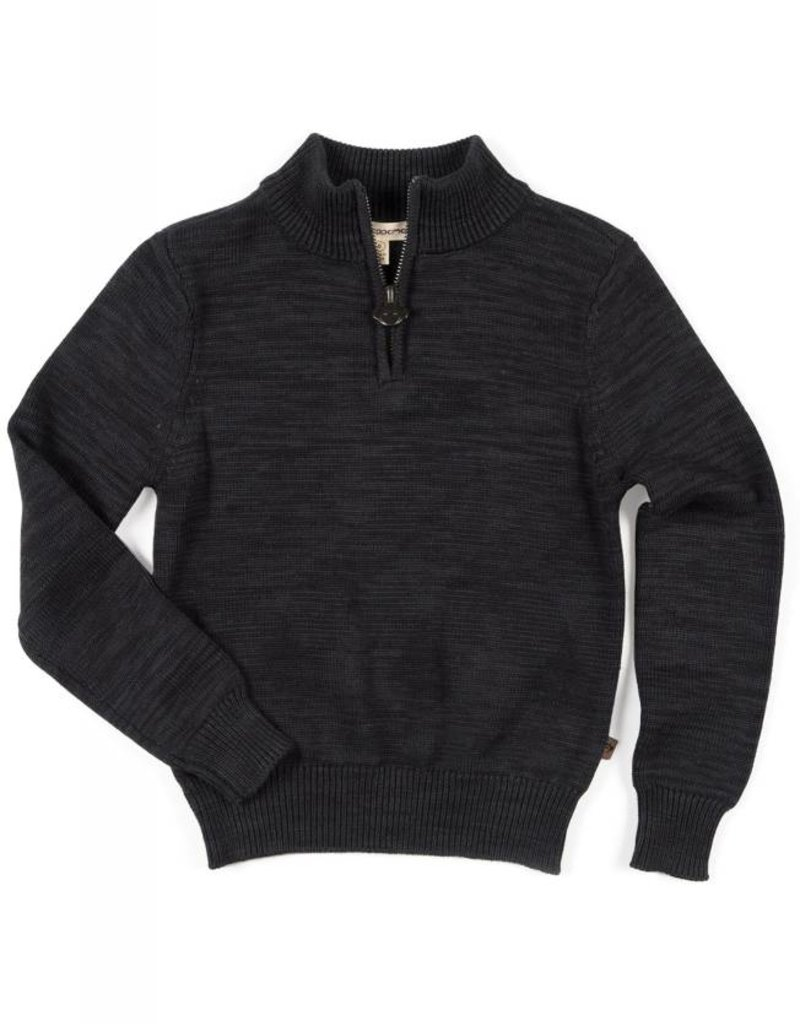 Appaman Charcoal Mock Neck Sweater