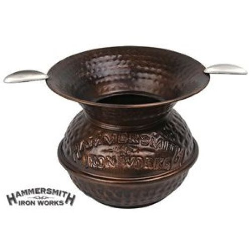 Quality Importers QI Hammered Spittoon Ashtray