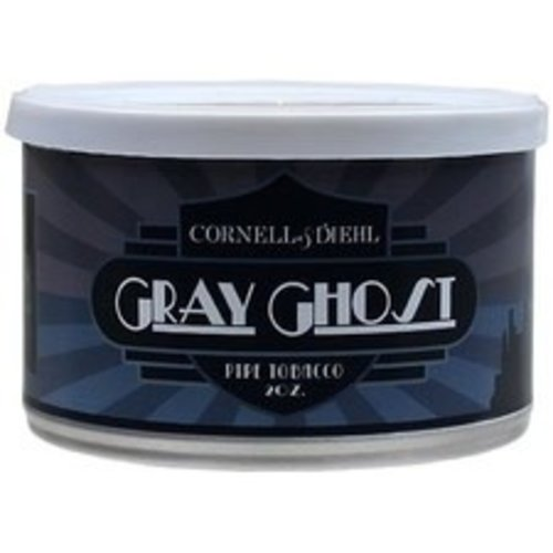 Cornell & Diehl C&D Pipe Tobacco Gray Ghost Tins 2 oz.