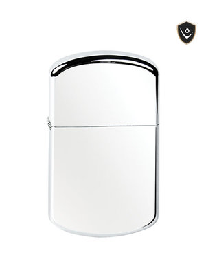 Vector Thunderbird Lighter - Polish Chrome (Curved) - Soft Flame