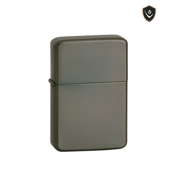 Thunderbird Lighter - Gunmetal Satin - Soft Flame