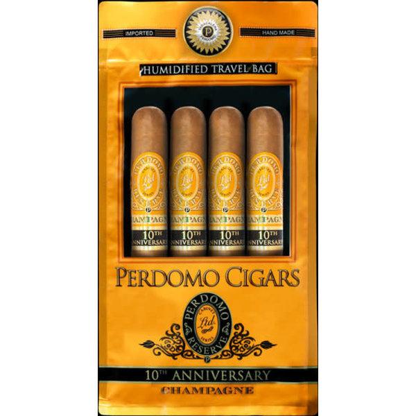 Perdomo 4 Cigar Assortment - Champagne