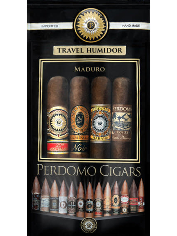 Perdomo Habano Perdomo 4 Cigar Sampler - Maduro