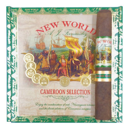 AJ Fernandez New World New World Cameroon Double Robusto - single
