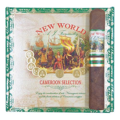 AJ Fernandez New World New World Cameroon Gordo - Box 20