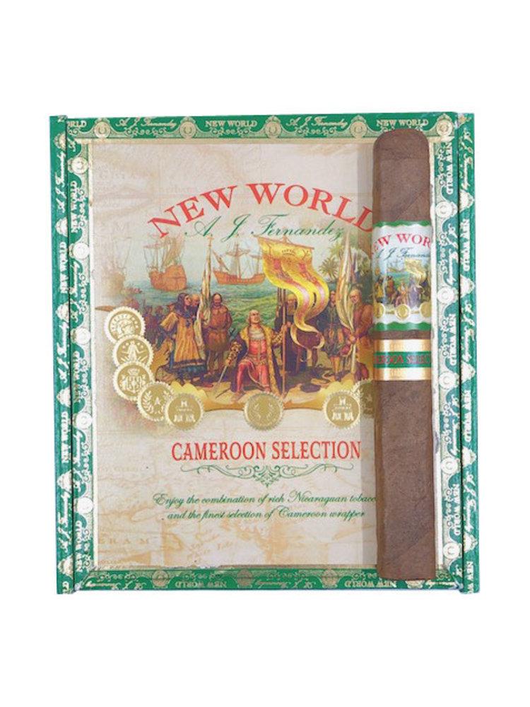 AJ Fernandez New World New World Cameroon Toro - Box 20