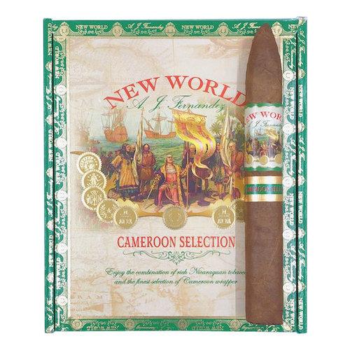 AJ Fernandez New World New World Cameroon Torpedo - Box 20