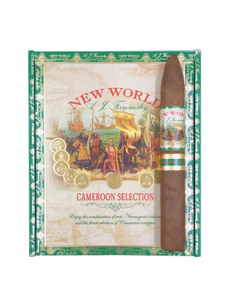 AJ Fernandez New World New World Cameroon Torpedo - single