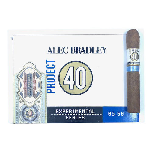 Project 40 by Alec Bradley Project 40 Robusto 05.50 - single