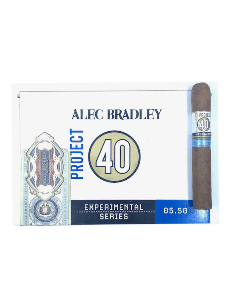 Project 40 by Alec Bradley Project 40 Robusto 5x50 - Box 20