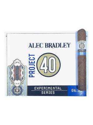 Project 40 by Alec Bradley Project 40 Toro 6x52 - Box 20