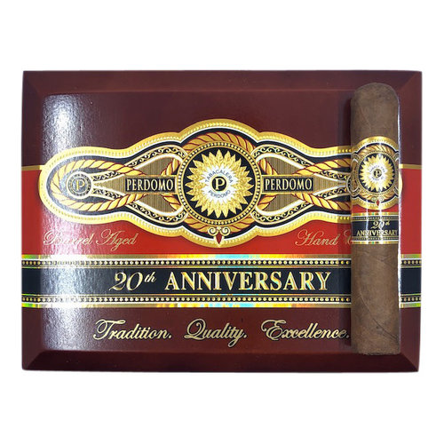 Perdomo 20th Anniversary Perdomo 20th Ann. Sun Grown Robusto - single