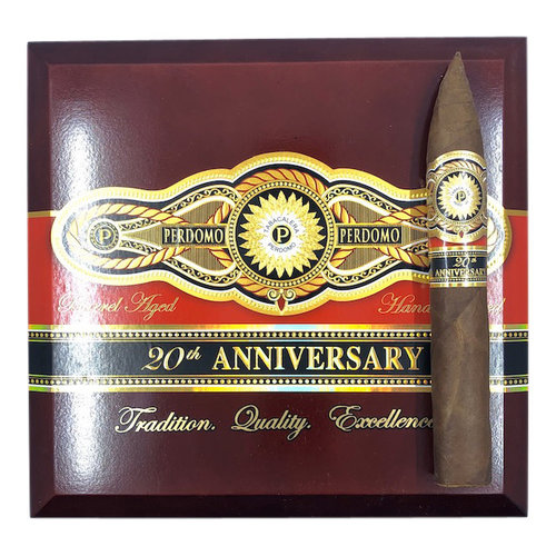 Perdomo 20th Anniversary Perdomo 20th Ann. Sun Grown Torpedo - Box 24