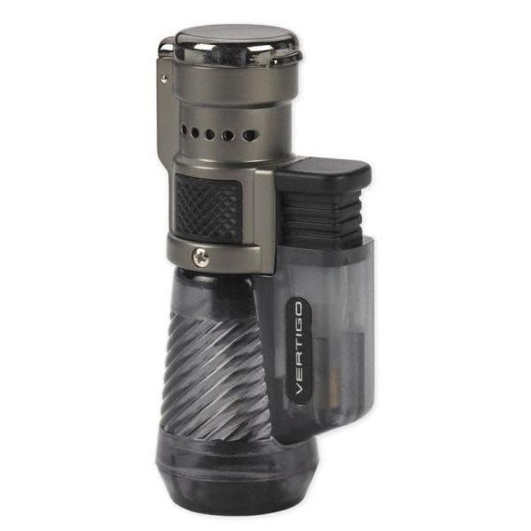 Vertigo Cyclone - Triple Lighter - Charcoal