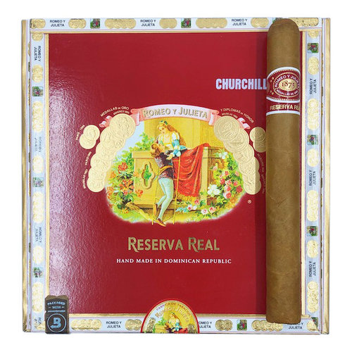 Romeo y Julieta Reserva Real RyJ Reserva Real Churchill - Box 25
