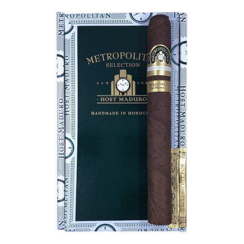 Nat Sherman Metropolitan Metropolitan Host - Maduro - Hampton - Box 25