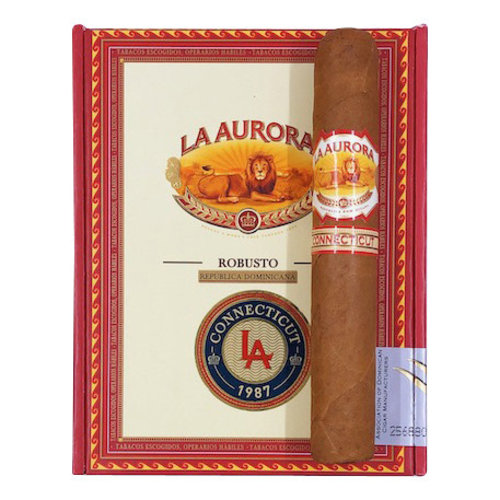 La Aurora La Aurora 1987 Connecticut Robusto - single