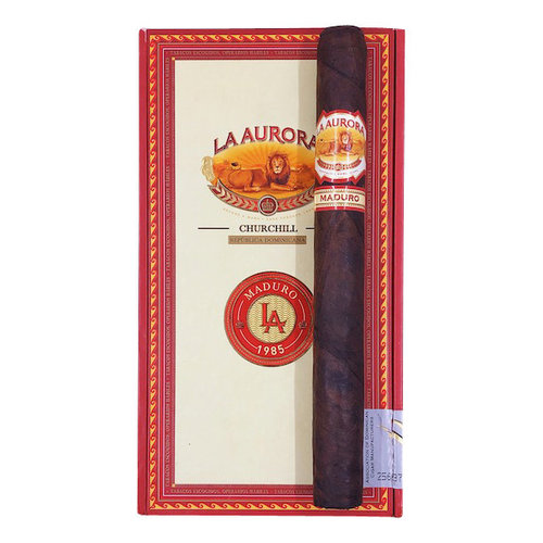 La Aurora La Aurora 1985 Maduro Churchill - single