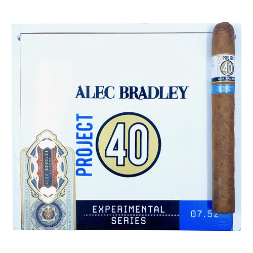 Project 40 by Alec Bradley Project 40 Churchill 7x52 - Box 20