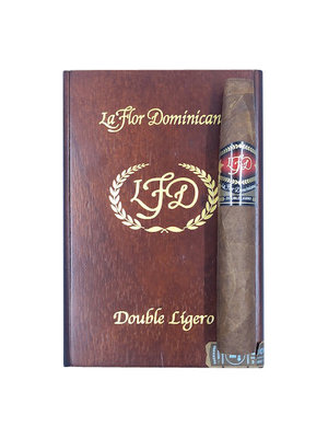 LFD Double Ligero La Flor Dominicana DL- Chisel Natural - Box 20