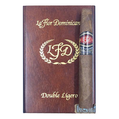 LFD Double Ligero La Flor Dominicana DL- Chisel Natural - Box 20