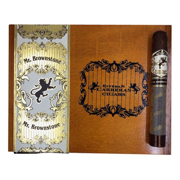 Estaban Carreras Mr. Brownstone Habano Toro - Box 20