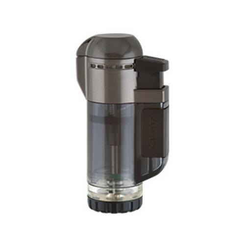 Xikar XIKAR Tech Double Torch Lighter - Black