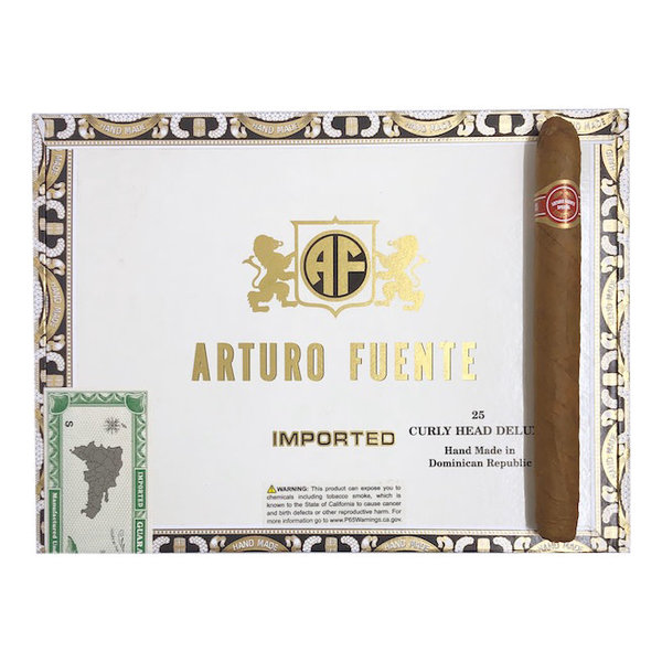 A. Fuente Curly Head Deluxe Natural - Box 25